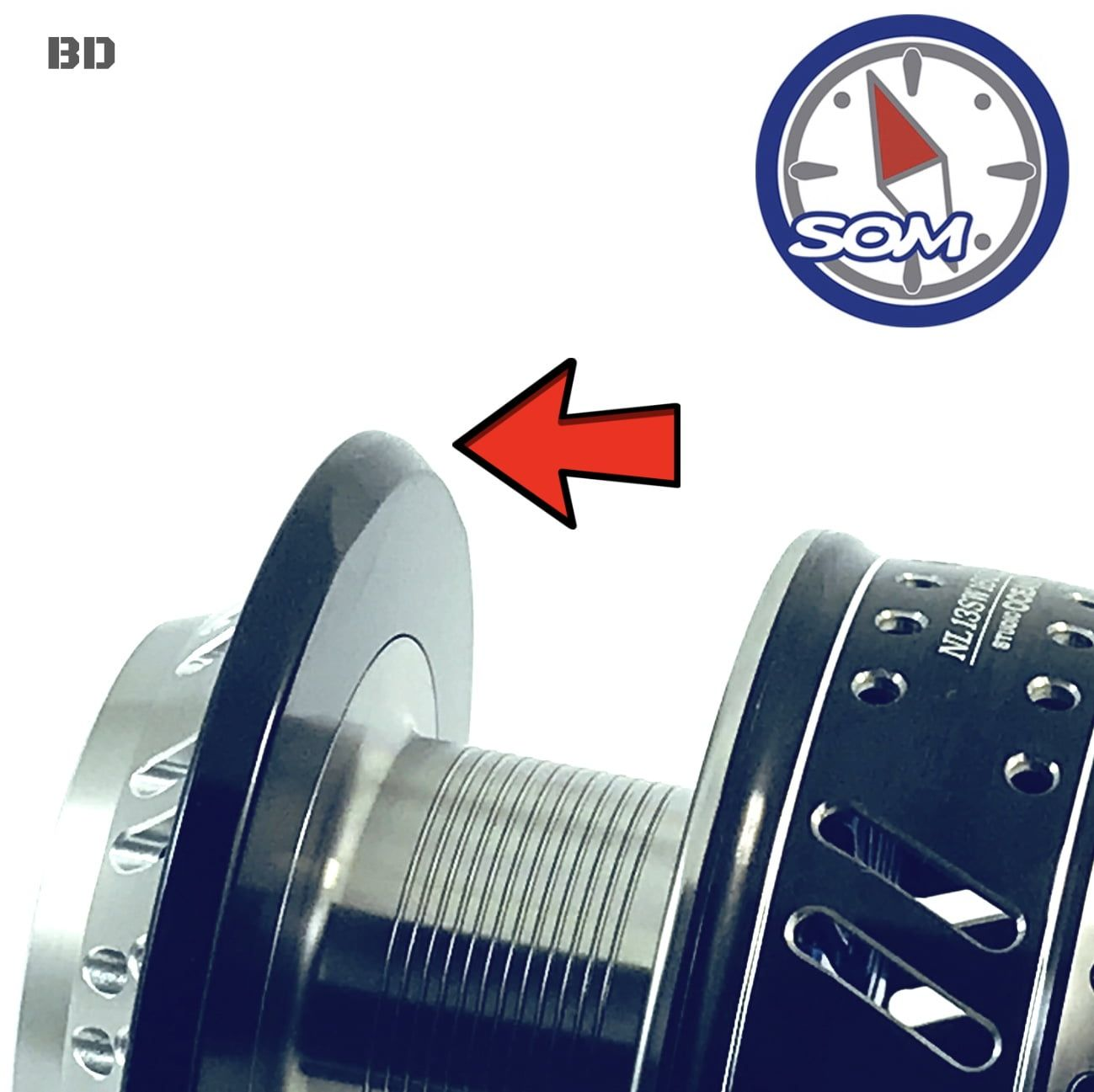 STUDIO OCEAN MARK CUSTOM SPOOL FOR SHIMANO NO LIMIT 16000 ...