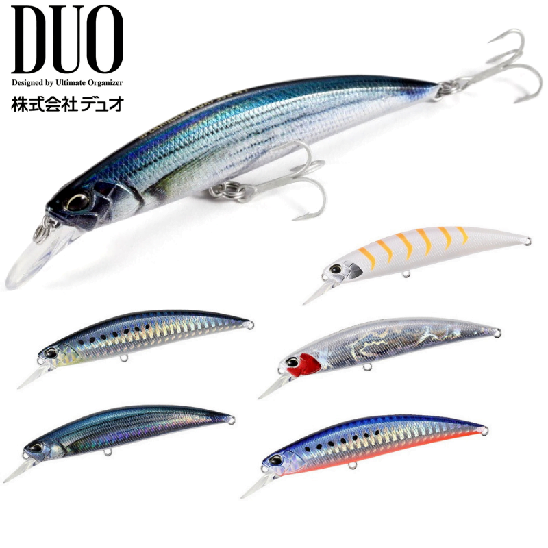 Duo Spearhead Ryuki 80S SW Sinking Lure DQA0184 3628