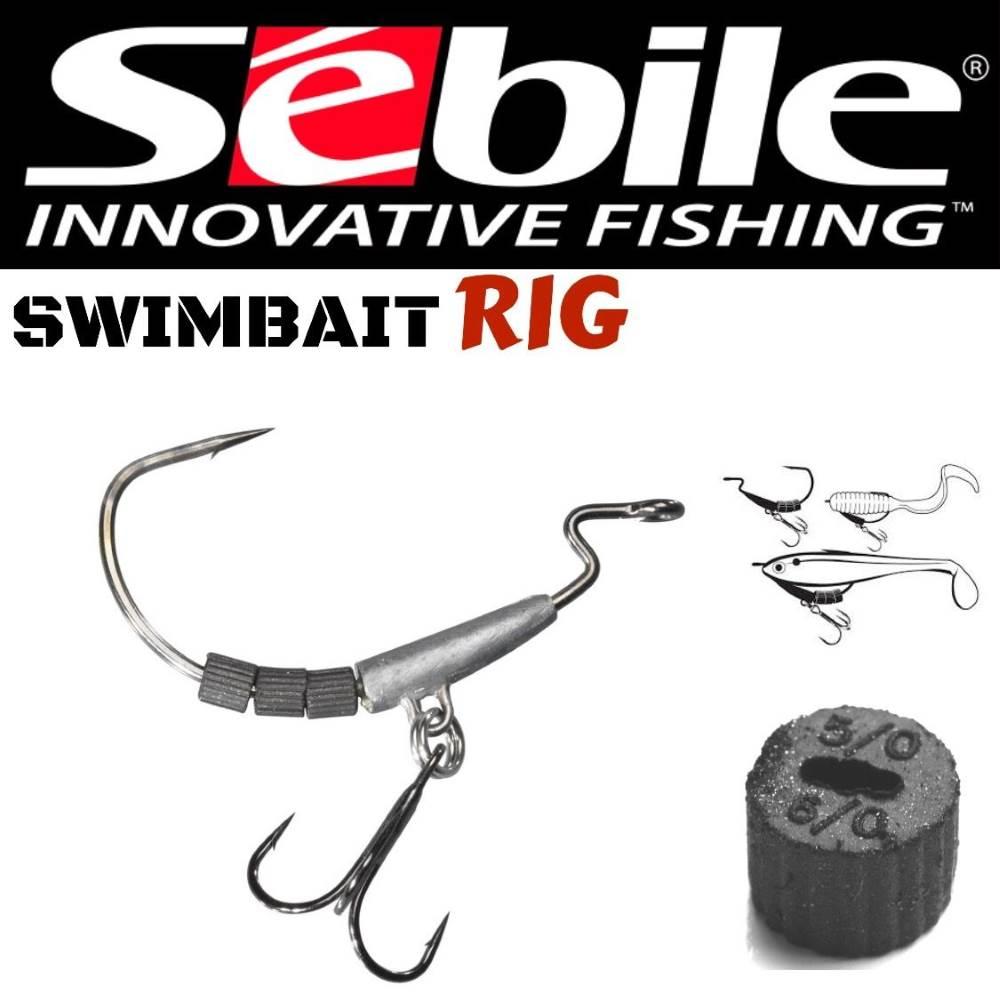 Sebile Soft Tungsten Weight Hook System